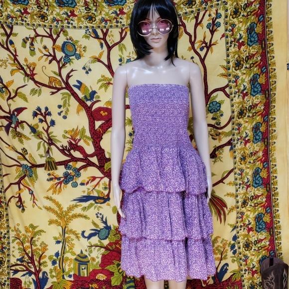Old Navy Dresses & Skirts - Boho strapless tube top summer dress XXL tall